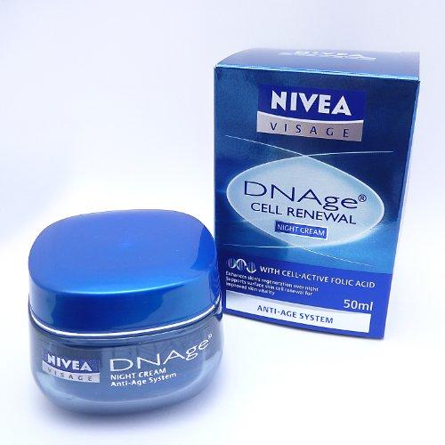 Nivea Visage DNAge Nachtpflege, 50 ml