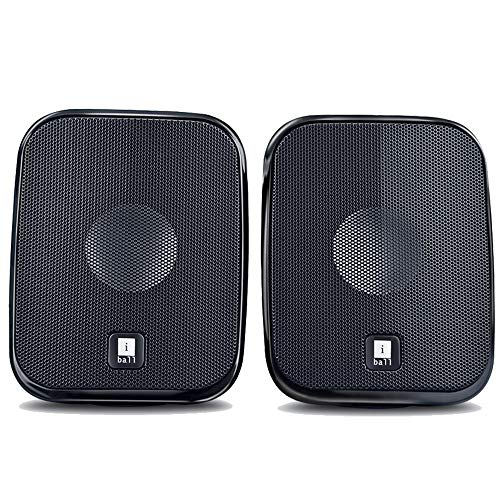 iBall Decor 9-2.0 USB Powered Computer Multimedia Speakers with in-line Volume Controller,...