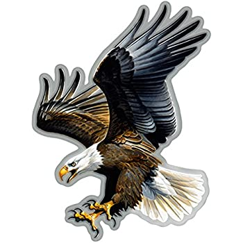 "Eagle Sunset Sign Wall Plaque Personalize Gifts Outdoor//Indoor American 8/"" x 12/"""