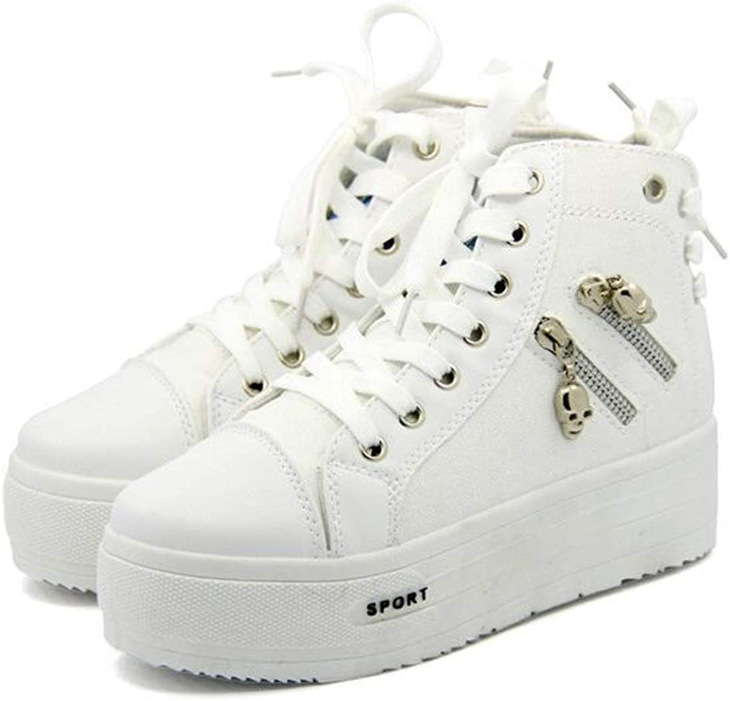 Cloudless Women's Fashion Platform Canvas High Top All Sneakers
