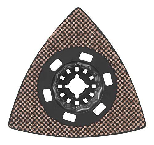 Find Bargain Bosch OSL350CR10 Starlock Oscillating Multi-Tool Carbide 100 Grit Delta Sanding Pad