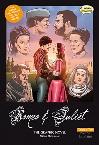 Romeo and Juliet The Graphic Novel: Plain Text by Clive Bryant