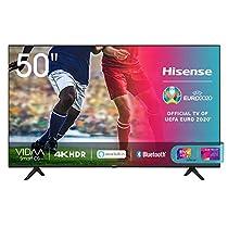 "Offerta del giorno: Hisense 50AE7000F, Smart TV LED Ultra HD 4K 50"", HDR 10+, Dolby DTS, con Alexa integrata, Tuner DVB-T2/S2 HEVC Main10 [Esclusiva Amazon - 2020]"