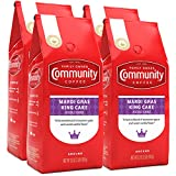 The Taste of Mardi Gras: The king of all flavored coffees; Enjoy the taste of Mardi Gras all year with this festive blend of cinnamon spice and sweet vanilla flavor; Try with cream and sugar Ground Beans: We take high quality 100% Arabica beans, roas...