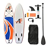 """Best Inflatable Paddleboards - ALIFUN SUP Inflatable Stand Up Paddle Board 10'5""""×32""""×6"""" Review"""