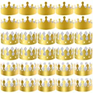 3 styles and plentiful quantity - package including 27 pieces paper crown hats, convenient for share and replace; designed with 3 styles, 9 pieces for each style, you can share different crown hats with your friends in the party Crown sizes - the len...