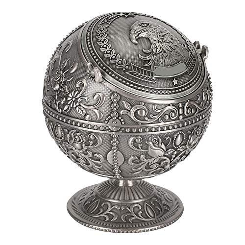 Plateau de table cendrier boule cendrier rétro pour artisanat ornement décoration de la maison