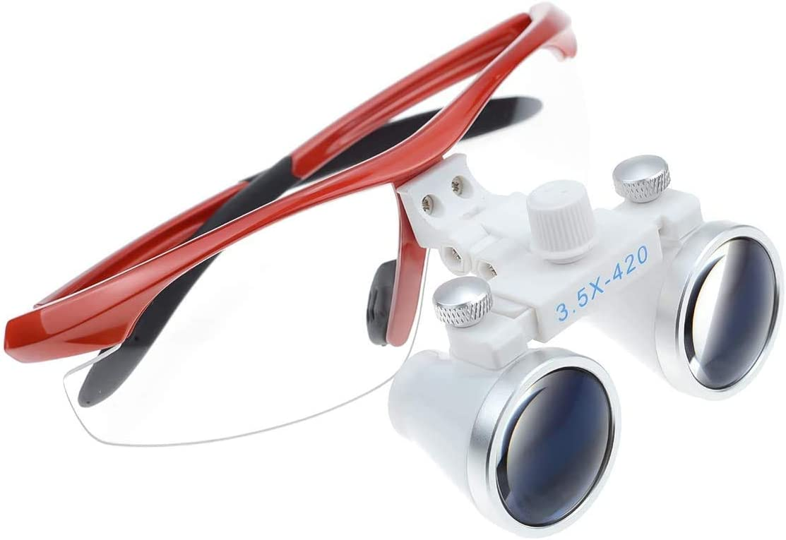 DocRoyal Dental loupes Limited Special Price 3.5X420mm Surgica Glasses Super popular specialty store Optical Medical
