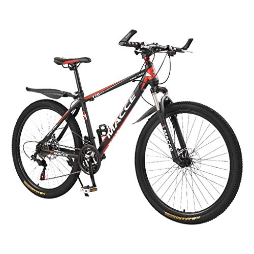 TTLOVE 26-Zoll-Faltrad Mountainbike Carbon Steel Mountainbike 24-Gang-Fahrrad Vollfederung MTB Outroad-Mountainbike Gabelfederung, Jungen-Fahrrad Herren-Fahrrad