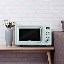 Microonda, casa multifunción horno de calentamiento, pequeño mini calentador inteligente, microondas plana horno for la cocina/restaurante/hotel/consultorio/hospital (Color: Verde)