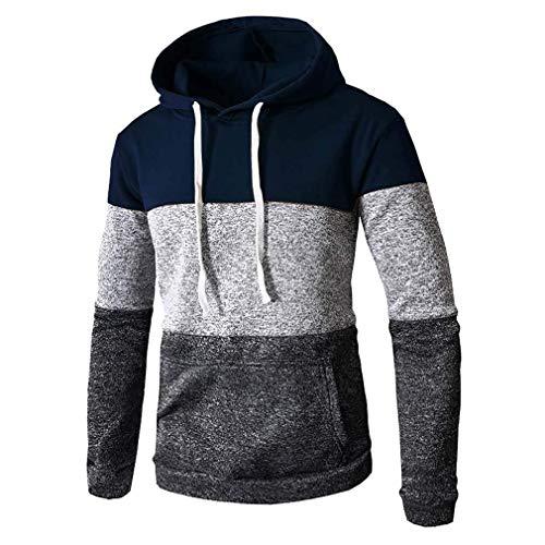 ASSD Clothing-yd - Sudadera de manga larga para hombre, estilo casual, con capucha, para ropa exterior