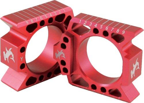 Hammerhead Designs Axle Blocks - Red CRAB -REP ABH1