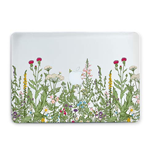 Wildflowers Laptop Case 12 inch A1534 Cool Cover Plastic Cases with Print Chamomile