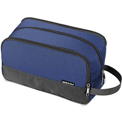 Toiletry Bag Small Nylon Dopp Kit Lightweight Shaving Bag for Men and Women (royal blue)