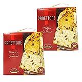 Lot 2x Panettone Pur Beurre - Italie - boîte 900g - Offre antigaspi date courte
