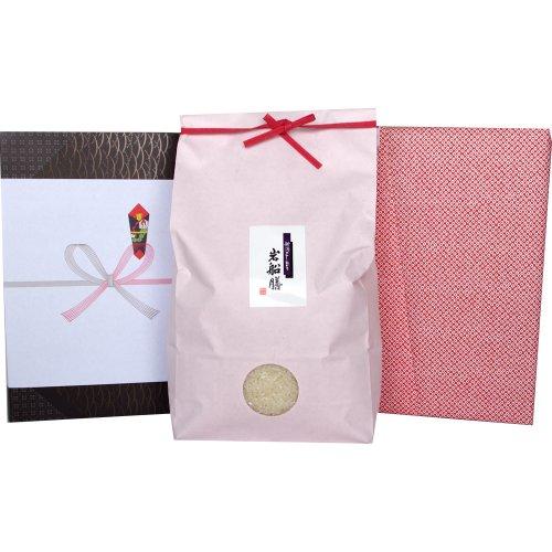 【夏ギフト】新潟県産コシヒカリ 5キロ[米袋:ピンク 包装紙:鹿の子]