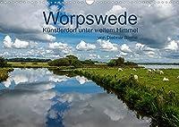 Worpswede - Kuenstlerdorf unter weitem Himmel (Wandkalender 2022 DIN A3 quer): Worpswede, das Kuenstlerdorf mit dem endlos weiten Himmel (Monatskalender, 14 Seiten )