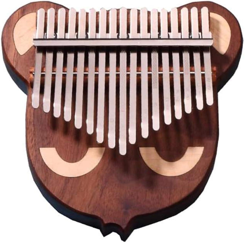 disfrutando de sus compras LXWM17 Tono Pulgar Pulgar Pulgar Piano Kalimba Kalimba Instrumento de Teclado de Piano de un Solo Dedo Completo  entrega de rayos