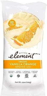 ELEMENT, Rice Cake, Og2, Van, Orange, Pack of 6, Size 3.5 OZ, (Low Carb Gluten Free Kosher Low Sodium Vegan Wheat Free Yeast Free 95%+ Organic)