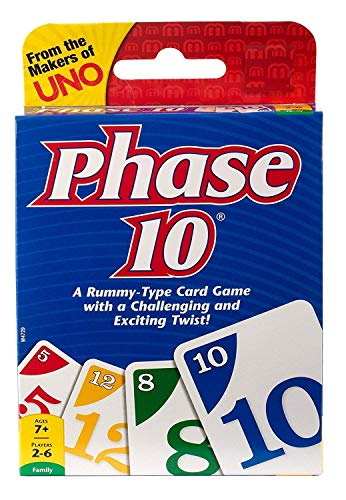 METRO TOY'S & GIFT Phase 10 Card Game -Pack of 1