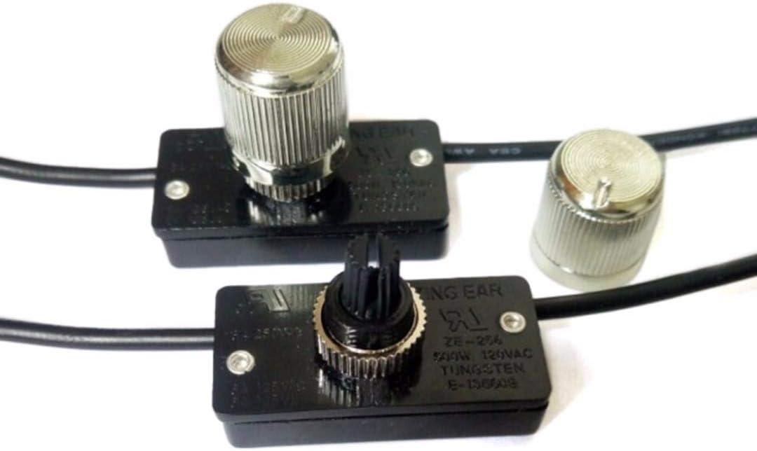 HARIKA Durable Brass Light Dimmer High quality new Switch 500W 120 Knob Volt 2021 Dimm
