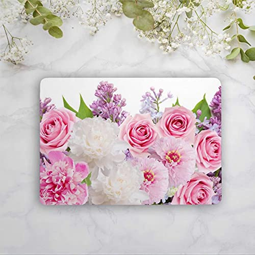 Peony Flower Bouquet Laptop Skin Floral Universal Notebook Vinilo Calcomanía Portátil Niñas Etiqueta Piel Personalizada Tamaño Pegatinas Yu205
