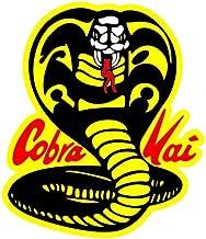 Cobra Kai Main Poster | Sizes 5 Vinyl Laptop Sticker Banner | Cobra Kai Main Window Decal