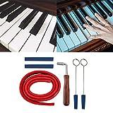 Kit De Afinación De Piano, 6pcs Kit De Tira De Temperamento De Silenciamiento De Martillo De Piano Profesional Para Herramienta De Sujeción De Piano