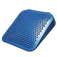 """CanDo Sitting Wedge Active Seat Wobble Cushion for Posture, Back Pain, Stress Relief, Restlessness and Anxiety. Adult Size, 15"""" x 15"""""""