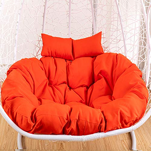Garden Patio Indoor Outdoor Chaise Lounge Cushion Ties Straps Washable Removable Cushion Only,Hanging Swing Basket Rocking Chair Cushion