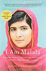 photo of malala on book cover