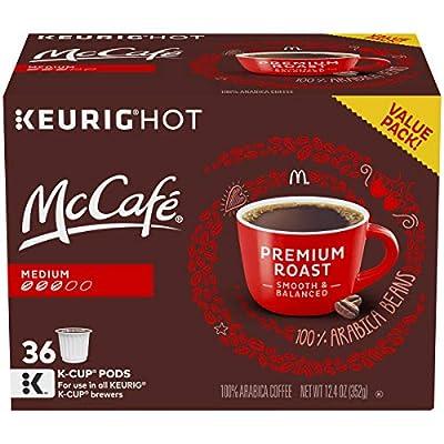 McCafe Premium Roast, Keurig Single Serve K-Cup Pods, Medium Roast Coffee Pods, 36 Count