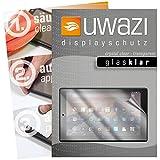 uwazi I 3X Glas-klare Schutzfolie für Amazon Fire HD 10 (2017) Bildschirmschutzfolie I Folie I Anti Fingerabdruck I Anti Kratzer