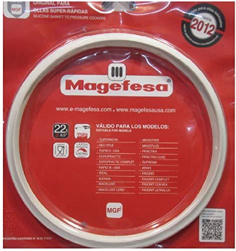 Magefesa Dichtungsring für Schnellkochtöpfe ELO/ELO/ELO The Quick/ELO Vario Nivella/Original III/M & K für 3,4,6,8 Liter 22 cm