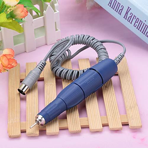 Máquina de manicura de uñas eléctrica duradera, mango de taladro de uñas de material de alta calidad con diseño de bolígrafo, salón profesional de 102L-2,35 mm para el hogar DIY(blue)