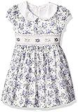 Bonnie Jean Girls' Toddler Collared Cotton Dress, Lavender, 2T