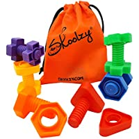 Skoolzy Jumbo Toddler Montessori Toys Building Construction Set