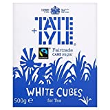 Tate & Lyle Fairtrade White Sugar Cubes (500g) - Packung mit 6 -