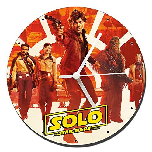 MasTazas Han Solo Una Historia De Star Wars Solo A Star Wars Story Reloj de...