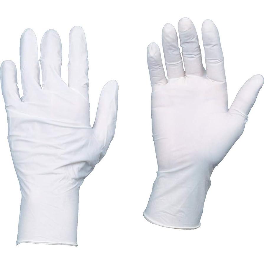 鼓舞するにんじん悪夢TRUSCO(トラスコ) 10箱入り 使い捨て天然ゴム手袋TGワーク 0.10 粉付白M TGPL10WM10C
