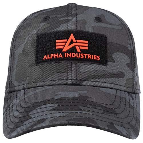 Alpha Industries VLC II Kappe Schwarz/Grau/Weiß