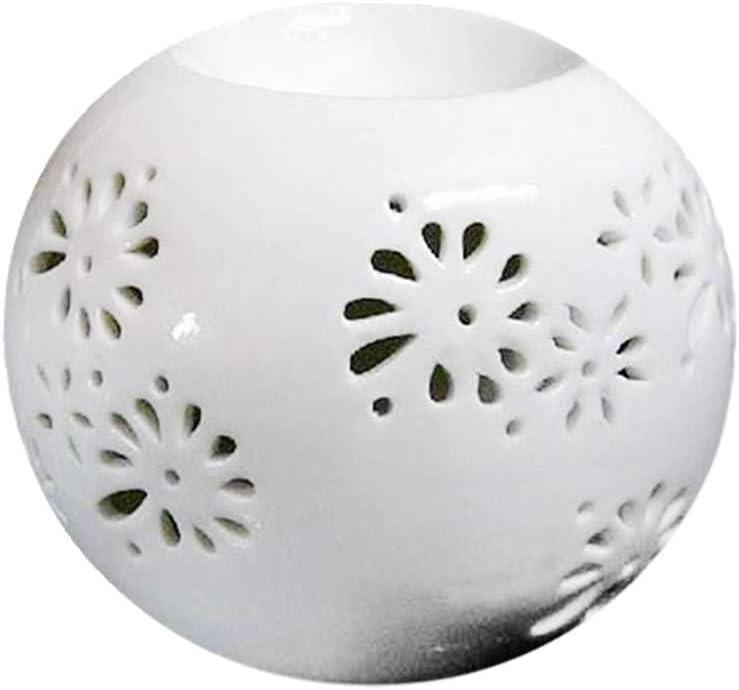 VVU Wax Max Tucson Mall 83% OFF Melt Essential Oil Ceramic Candle Bed Burner Home