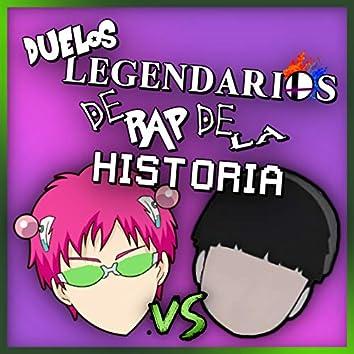 Saiki Vs Mob (Duelos Legendarios de Rap de la Historia)