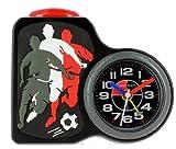 Baby Watch - Dring Football Black - Réveil Garçon - Quartz Analogique - Cadran Noir