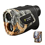 TIDEWE Hunting Rangefinder with Rechargeable Battery, 700Y Camo Laser Range Finder 6X Magnification,...