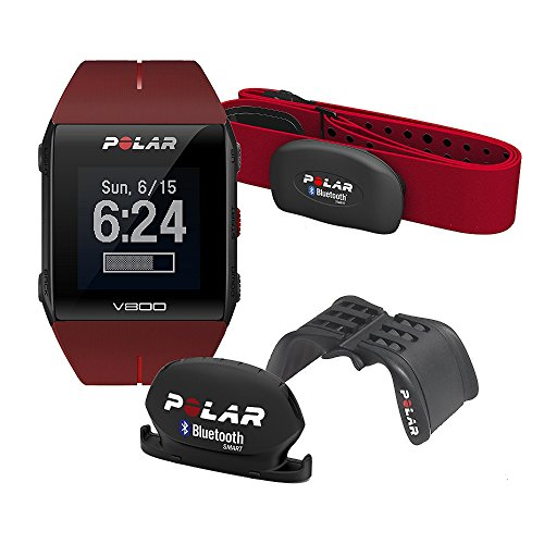 POLAR Pulsuhr V800 HR JNG Special Edition, red, 90061182