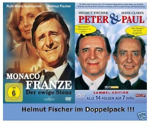 Monaco Franze + Peter & Paul - Helmut Fischer Doppelpack (10 DVDs)