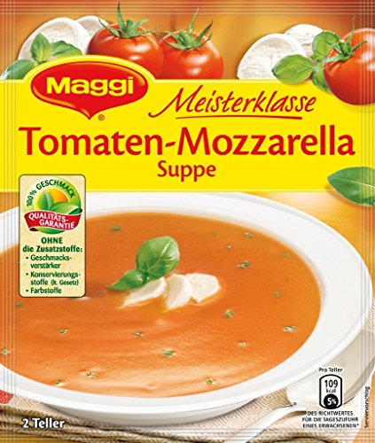 Maggi Meisterklasse Tomaten Mozzarella Suppe für 0,5l