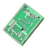 WHDTS Microwave Radar Detector Sensor Module 2.25GHz 16-26ft Detection Range Smart Motion Sensor Switch Module Home Control 3.3-20V DC for Arduino