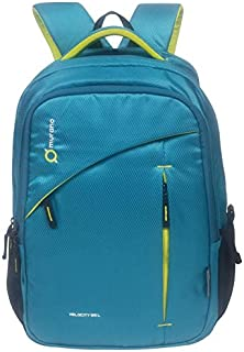 Murano Velocity Casual Backpack with 3 Compartment and Polyester Water Resistance 35 Ltr Backpack- Teal Green